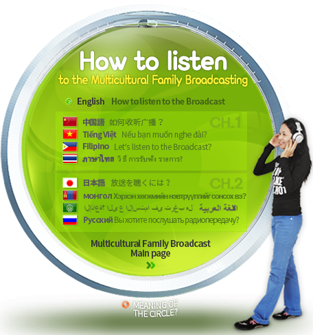 How to listen to the Multicultural Family Music Broadcasting